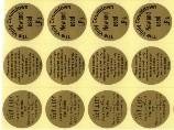 Etichete adezive PVC  - tip hotstamp