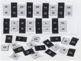 Etichete tesute marimi - STOC